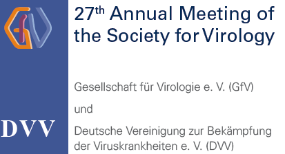27th Annual Meeting of the Society for Virology • 22–25 March 2017 • Marburg